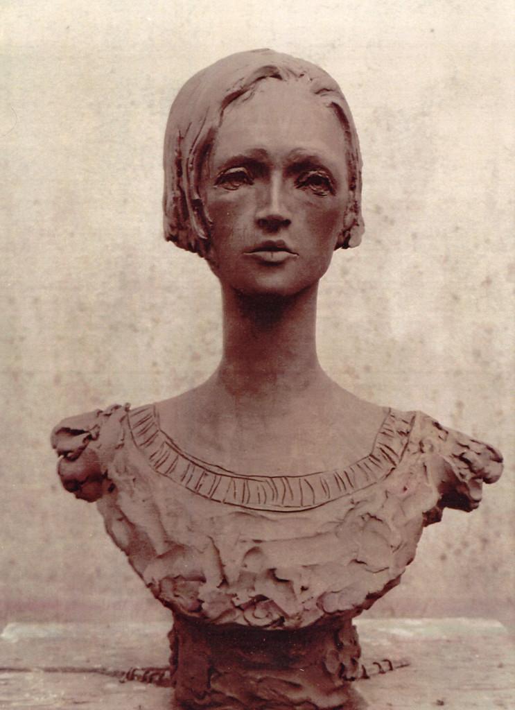 10 Debora, 2001, gesso policromo